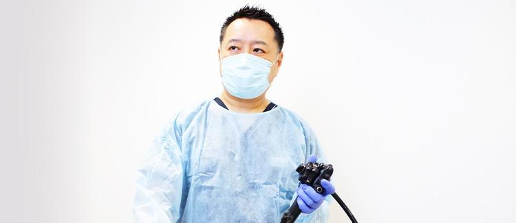 苦痛を抑え楽に受けられる内視鏡検査