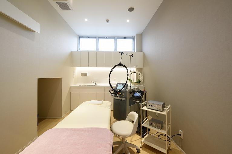 皮膚科処置室
