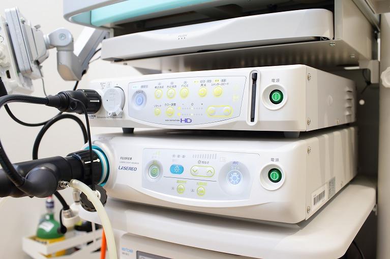 最新の内視鏡システムで微細な病変も早期発見